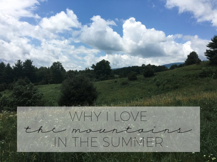 The best part of living in the mountains in the summer #SnackStories #SnackSnapShare #CollectiveBias #ad
