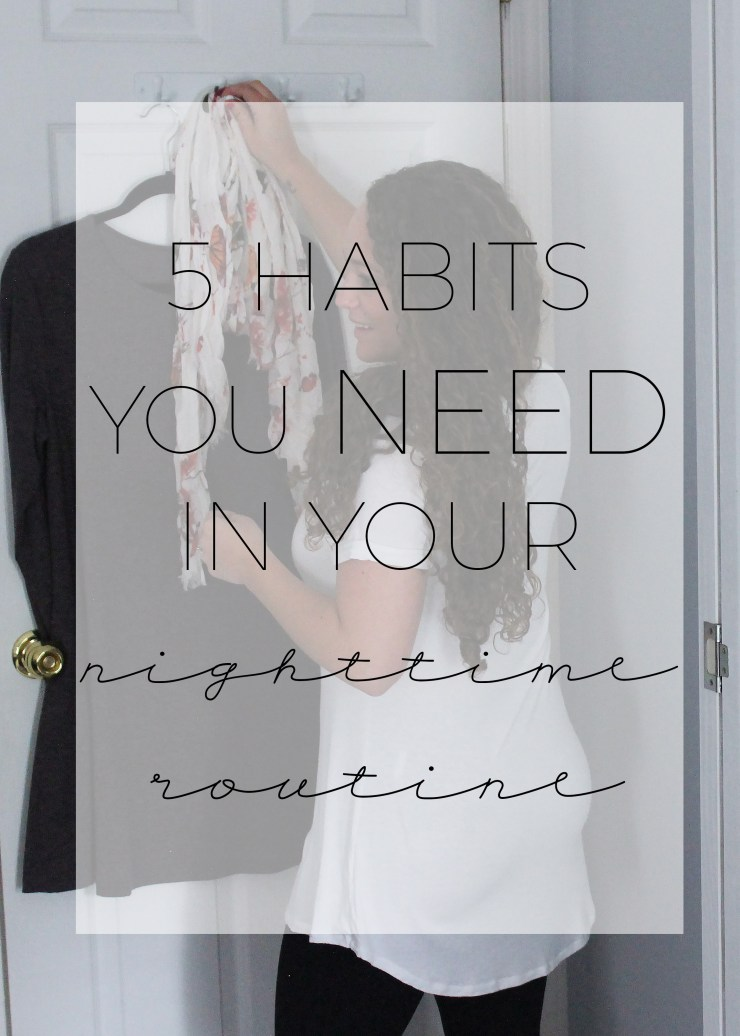 5 habits you need in your nighttime routine with #NatureMadeGummies #CollectiveBias #ad