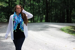 lilly pulitzer sale scarf fall transition outfit