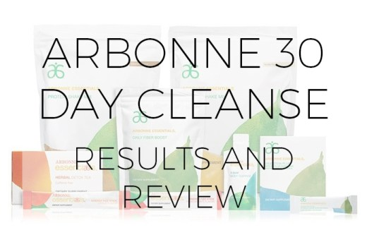 arbonne 30 day cleanse results, review, detox, cleanse review