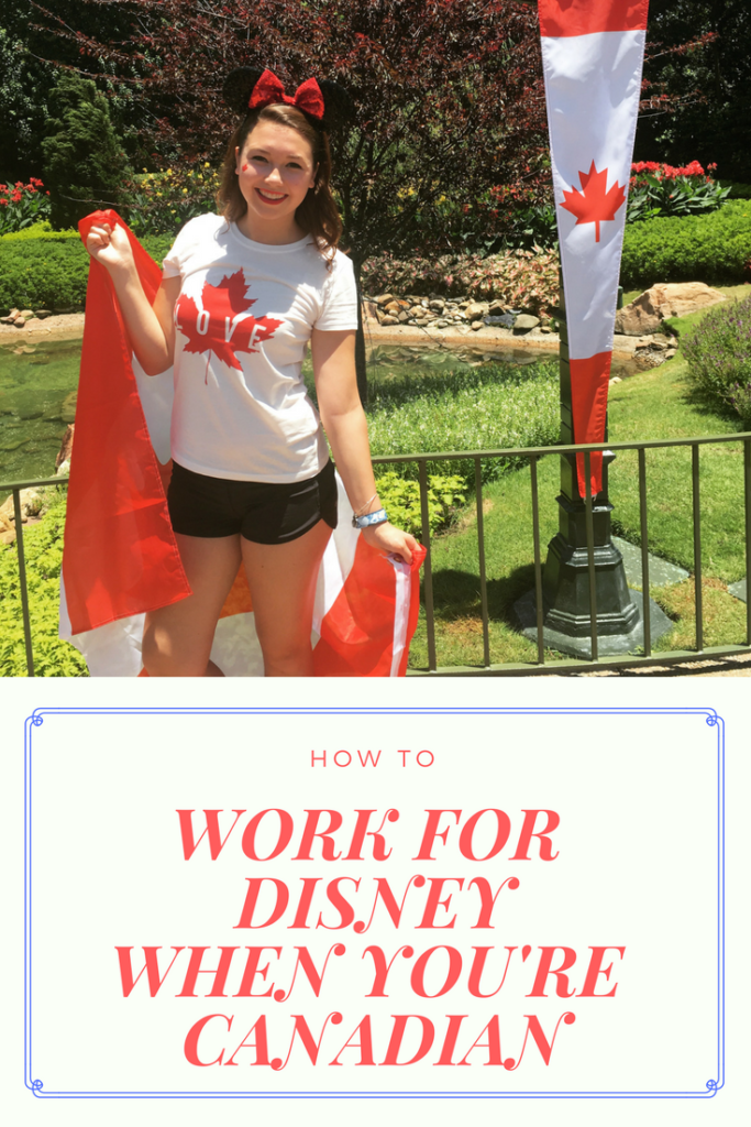 WORK DISNEY CANADIAN