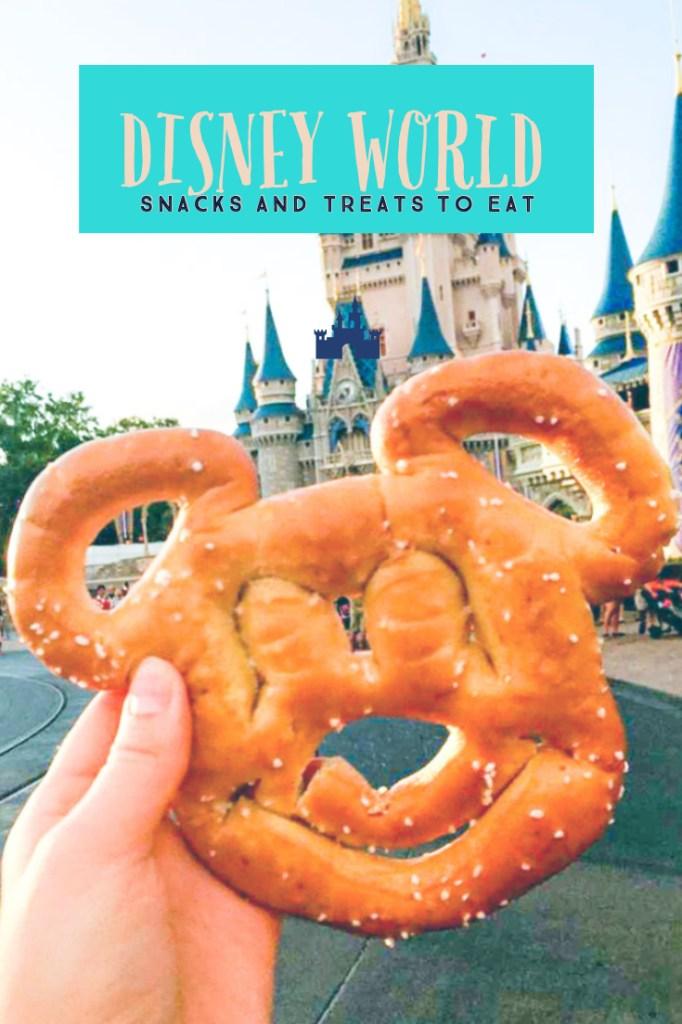 20+ snacks and treats at Disney World. Food at Disney World. Food you have to eat at Disney World.