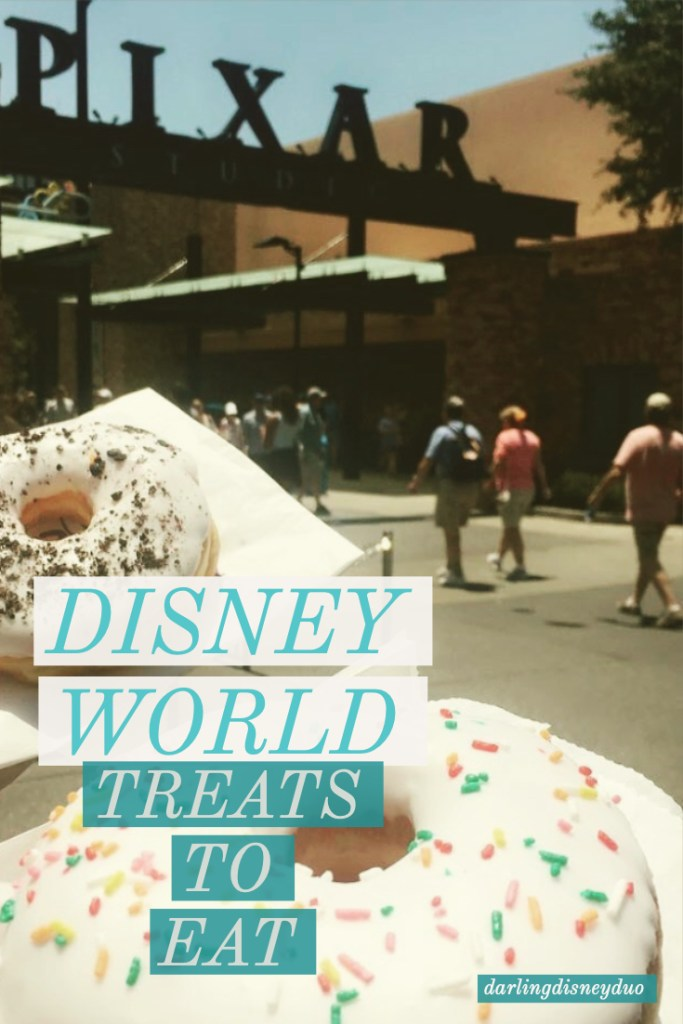 Disney World treats to eat on your next trip to Disney World. Magic Kingdom snacks. Disney World treats. Huge list!