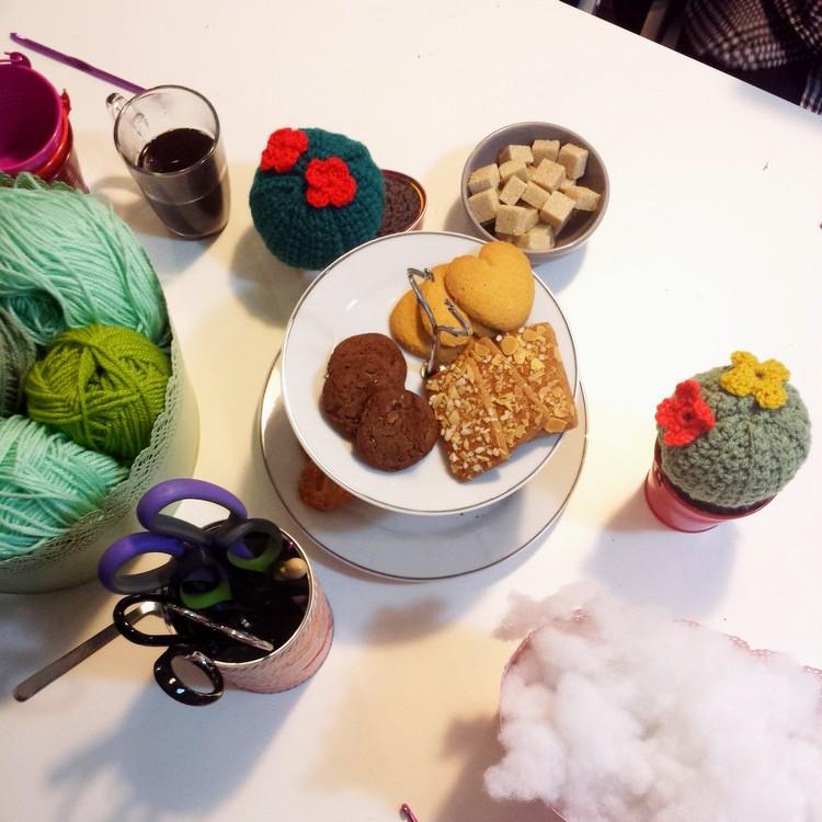 la feliz diy atelier tricot couture espagnol mode robe tortillas brunch