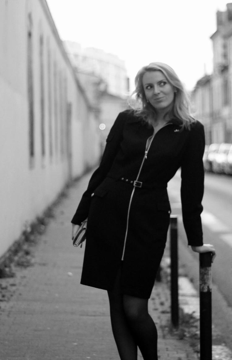 robe manteau thierry mugler pochette escarpins zara vernis dior 14