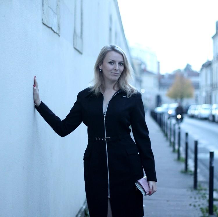 robe manteau thierry mugler pochette escarpins zara vernis dior 18