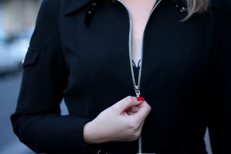 robe manteau thierry mugler pochette escarpins zara vernis dior 21