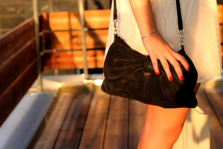 robe rose pale dentelle plumetis vero moda starbuck, paulette magazine ambassadrice tote bag mango sac 2