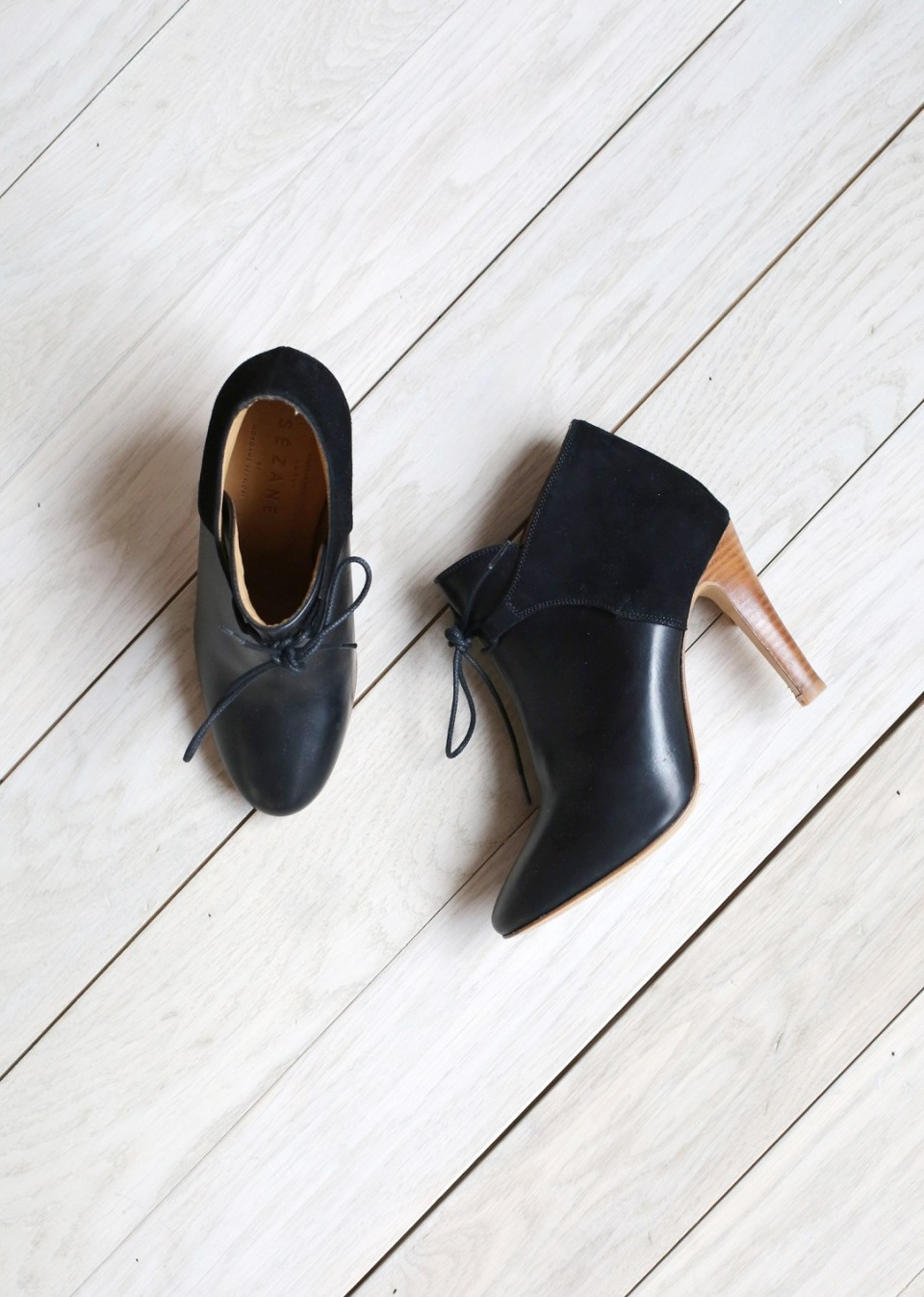 sezane, chaussures, low hunter, boots