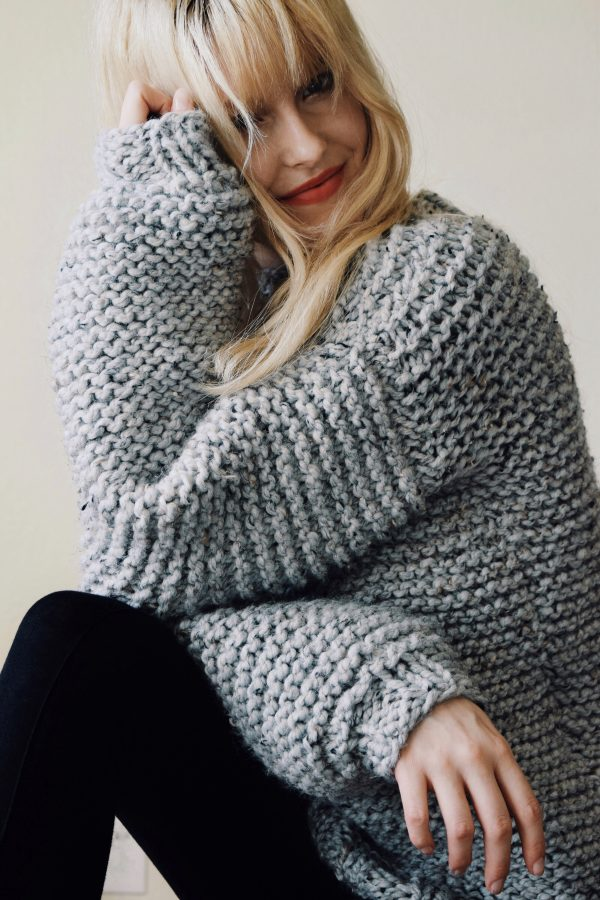 The Perfect Chunky Knit Sweater For Winter Knitting Pattern