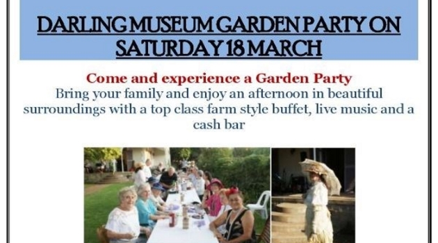 Darling Museum Garden Party