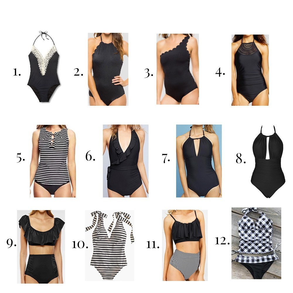 12 CUTE, CLASSIC & COMFORTABLE SWIMSUITS FOR THIS SUMMER