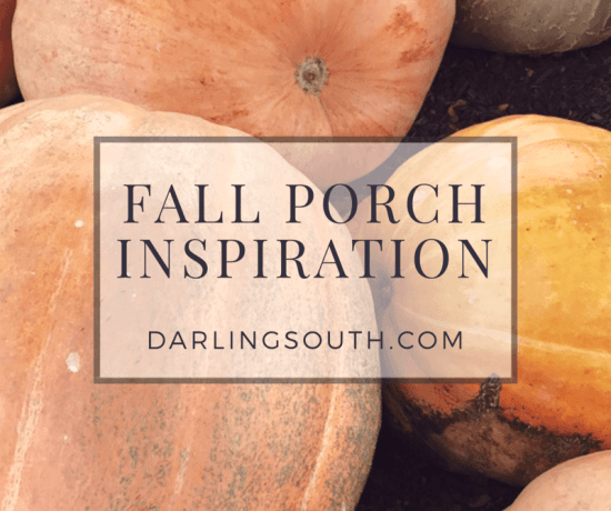 Darling South Fall Front Porch Inspiration