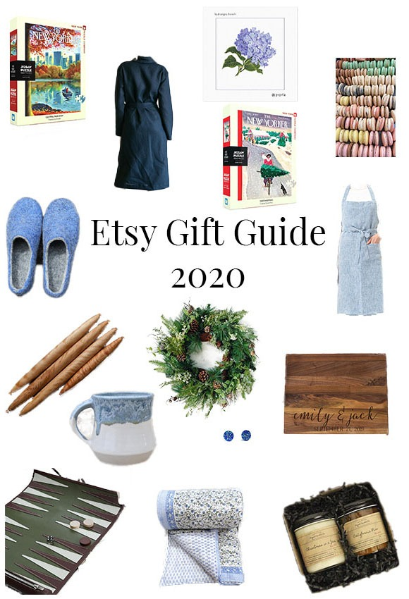 A compilation of handmade gift ideas from Etsy.