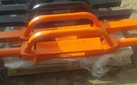 Powder Coated Heavy Duty Land Rover Bumpers