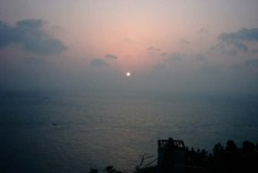 Sunrise on Geoje Island January 1, 2002
