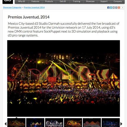 D3 - Premios Juventud 2014