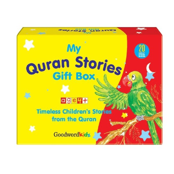 My Quran Stories Gift Box 1 (20 Quran Stories for Little Hearts PB Books) (Goodwords)
