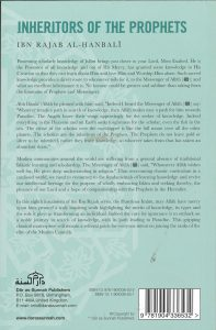 Inheritors Of The Prophets By Ibn Rajab Al-Hanbali (PB)