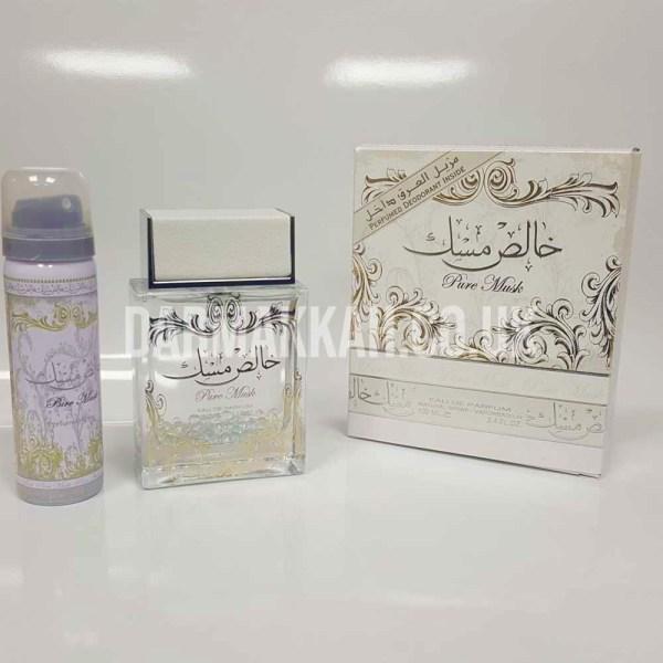 Pure Musk With Deo Spray Perfume - خالص مسك مع مزيل العرق