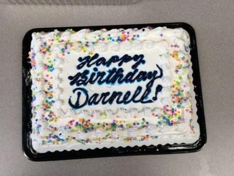 Whip Cream Birthday Cake
