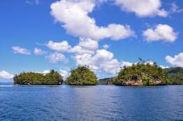 Daily boat trip to scenic Raja Ampat