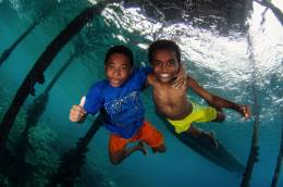 Scuba diving and travelling to Raja Ampat with kids