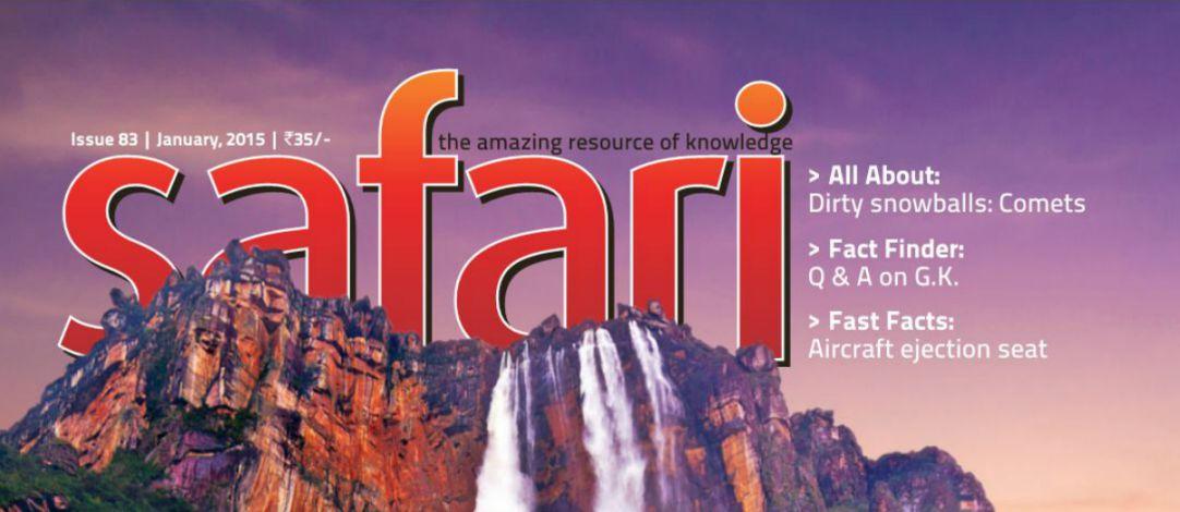Safari Gujarati English Science Magazine