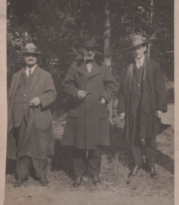 Martin, William and Clifford James
