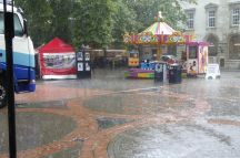 Monsoon in King's Square