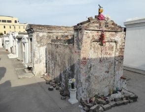 One of the possible tombs of Voodoo Priestess Marie Laveau