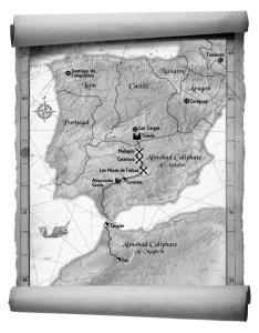 The Apprentice Stone Map - B&W