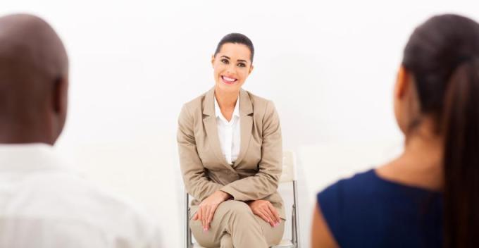Staffing Service in Birmingham, Alabama conducting interview.