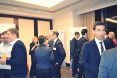Photo of Inside and Out Networking with partner banks