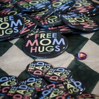 I love that parents come to the conference and make themselves known to be available for free hugs. Often, LGBTQ people have estranged relationships with family members and having someone to stand proxy can be a major source of love and comfort.