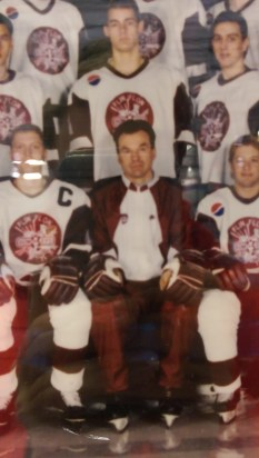 One of my favourite people in the world, Larry Wintoneak. He was the Klippers' coach during my time in Kindersley.