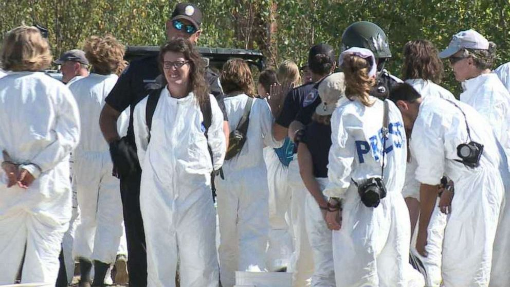 67 protesters arrested for demonstration at coal power plant