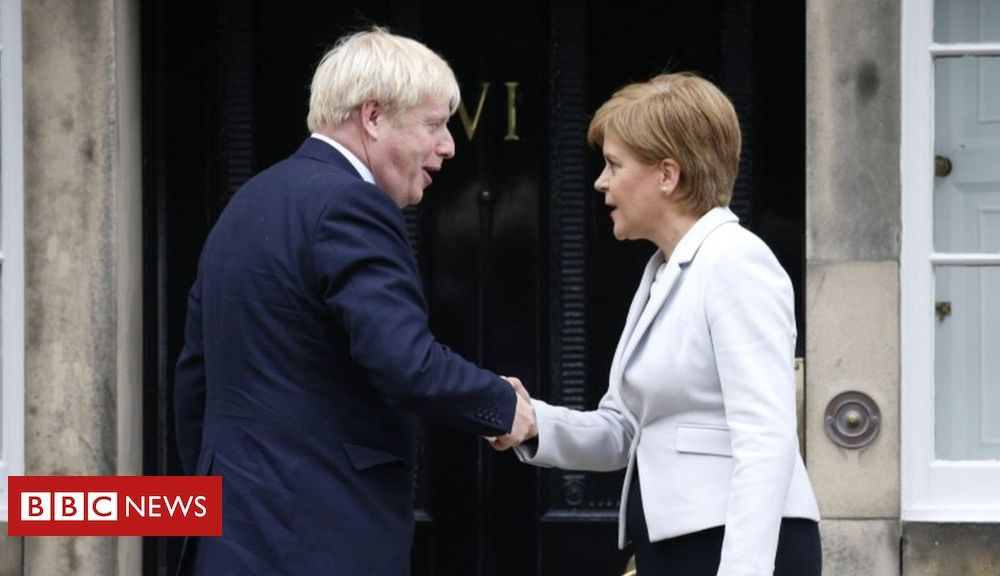 Nicola Sturgeon says Johnson deal would mean 'much harder Brexit'