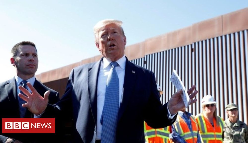 Trump Trump's border wall: A broken promise, a second term, or both?