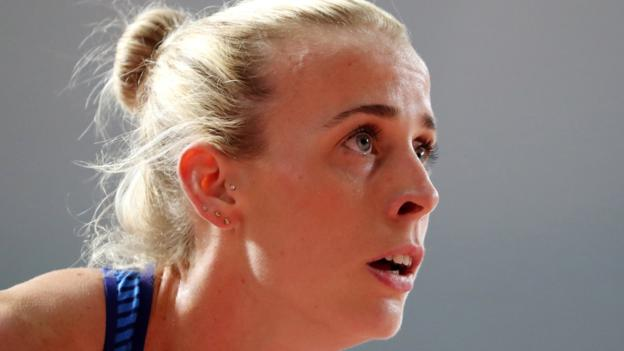 Sport GB's Sharp goes out in 800m first round at World Championships