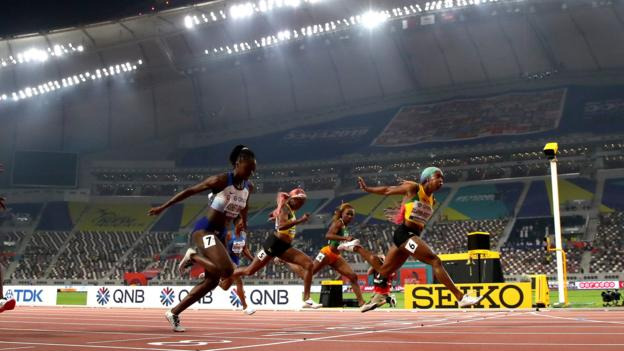 Sport IAAF 'disappointed' by small crowds at World Championships