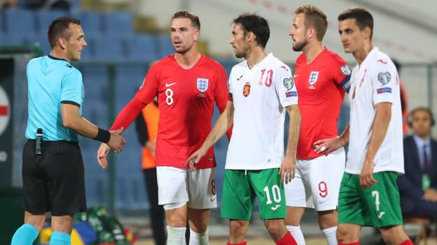 Sport Uefa to decide Bulgaria punishment for racist abuse in England qualifier