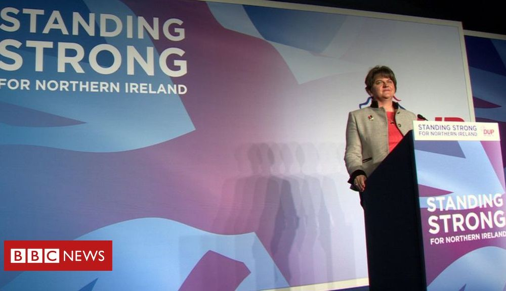 DUP conference: Arlene Foster to reaffirm opposition to Brexit deal