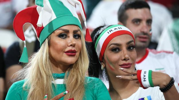 Sport 'This is a moment for real change' – Fifa 'firm' over women being allowed to watch games in Iran