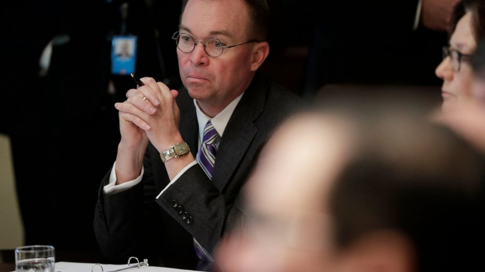 Conservative leaders rally behind embattled Mulvaney