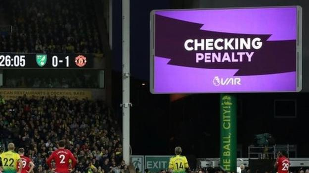 Sport VAR in Premier League: 'Bar was too high, now it's too low'