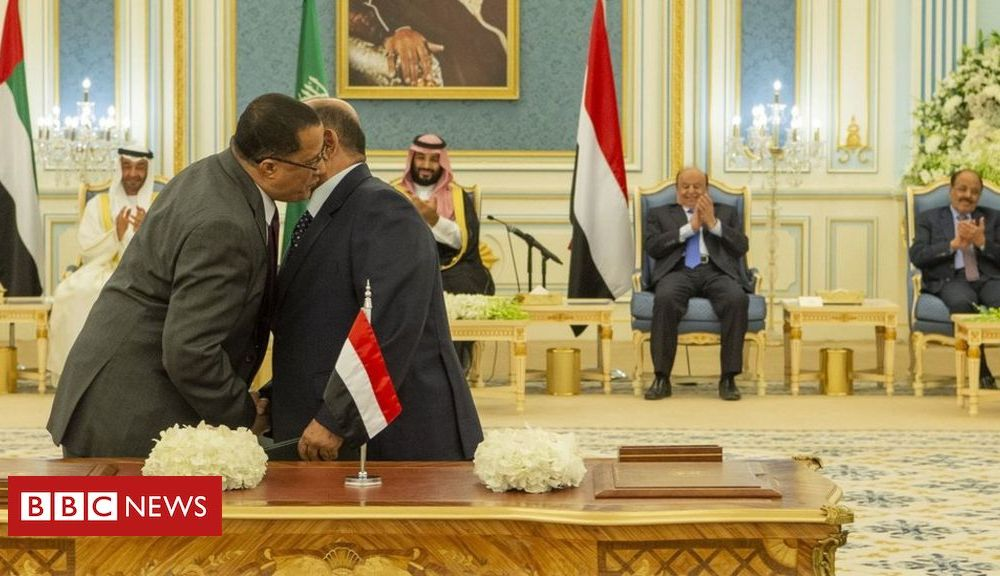 Trump Yemen war: Government and separatists agree deal to end infighting
