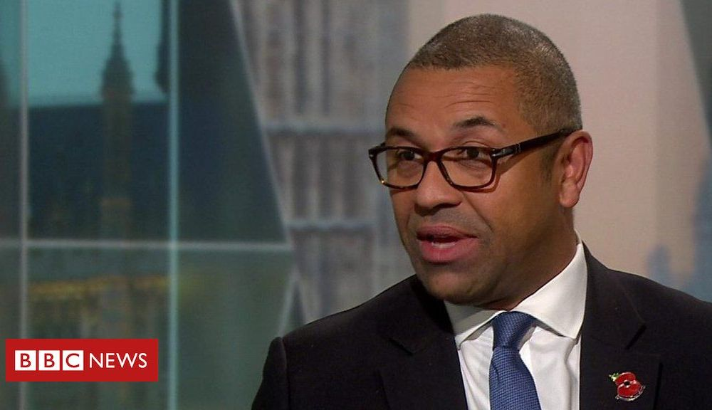 Tory chairman James Cleverly on 'do-or-die' Brexit slogan