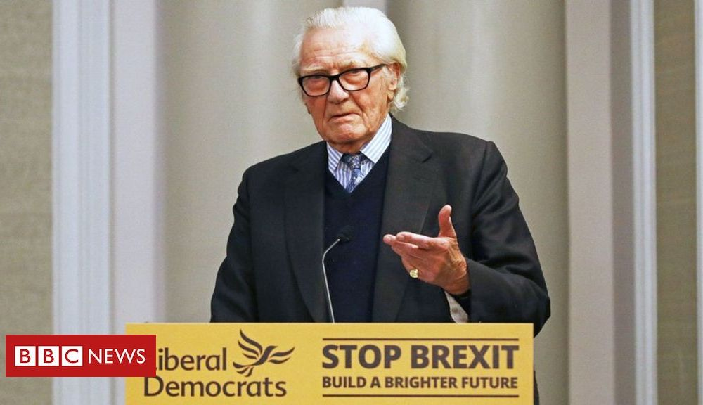 General election 2019: Lord Heseltine warns of UK 'uncertainty' if Tories win