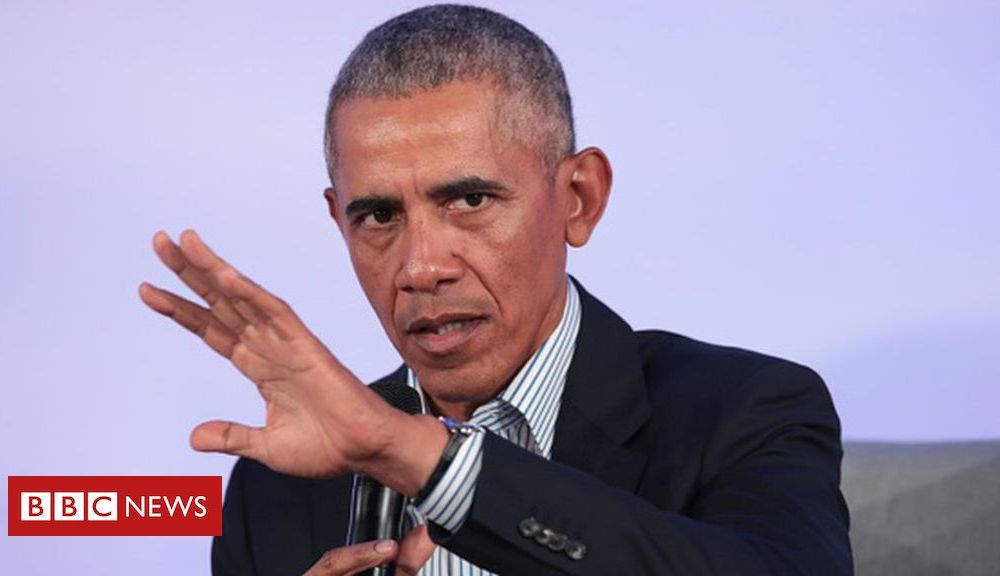 Trump US election 2020: Obama issues warning to 'revolutionary' Democrats